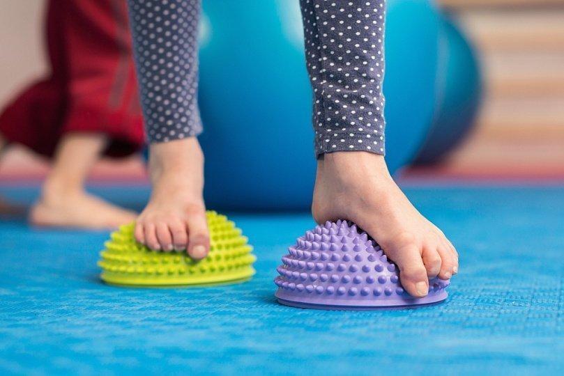 Основные физические упражнения при плоскостопии
